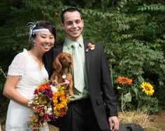 Wedding photos. Be sure to include even your furry family in your wedding shots. :) https://www.facebook.com/CGphotos1?ref=hl