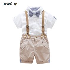 Big Cow New Arrival Baby Boy Spring Autumn Gentleman Clothing set Newborn Baby Bow Tie Shirt + Suspender Trousers formal party - Baby boy outfits - Baby Outfits, Boys Summer Outfits, Newborn Outfits, Toddler Outfits, Kids Outfits, Baby Dresses, Long Dresses, Toddler Wedding Outfit Boy, Spring Outfits
