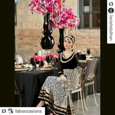 #Repost @lavishdulhan with @repostapp  Bold and beautiful style shoot designed for our winter/spring 2014 edition. Design & Planning by @faboccasions Decor by @dreampartydecor Beauty by @nicolerichardsmua Fashion by @bombay_trendz Photography by @kristafoxphotography Jewelry by @tarafavajewellery Florals by @floraldesignscanada  #tablescape#centerpiece #wedding#weddingdecor #weddingideas #weddingdesign#weddingplanner #bridetobe #southasianwedding #indianwedding#torontowedding #faboccasions…