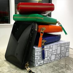 Comme des Garcons Wallets. Window display by the DSML team