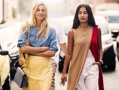 The best street style from Milan Fashion Week spring/summer 2019 - Vogue Australia London Fashion Weeks, Milan Fashion Week Street Style, Street Style 2018, Milano Fashion Week, Spring Street Style, Cool Street Fashion, Street Style Looks, Older Women Fashion, Curvy Fashion