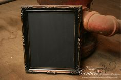 ~ Hand-painted vintage & antique framed message boards ~  Great for: reminders, love notes, grocery lists, homework, bedroom door signs, wedding & event signage, honey-do lists & much, much more!  All frames are made with real blackboard (not chalkboard paint) & real whiteboard!! FLAT-RATE SHIPPING AVAILABLE!!