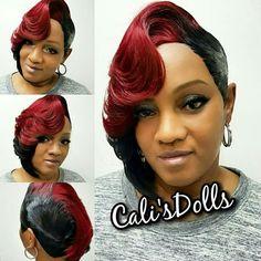 New 2018/2019 styles Debs Hairstyles, 27 Piece Hairstyles, Braided Mohawk Hairstyles, Quick Weave Hairstyles, Black Girls Hairstyles, African Hairstyles, Hairstyle Ideas, Short Sassy Hair, Medium Short Hair
