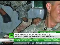 Bring out the dead: US troops pose with Afghan body parts