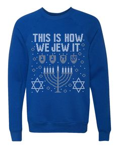c92ba9cb 24 Best Ugly Hanukkah Sweaters images | Ugly hanukkah sweater, Being ...
