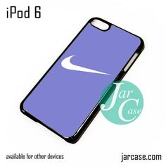 Blue Smooth Nike iPod Case For iPod 5 and iPod 6