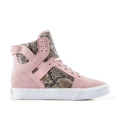 WOMENS SKYTOP WEDGE in PINK   BROWN - WHITE  478457d97e