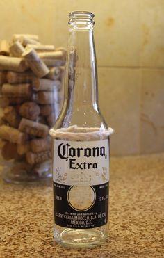 Copos de garrafas recicladas passo a passo | Como fazer em casa Artesanato