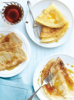 Ricardo& recipe: Egg-Free and Dairy-Free Crepes Gluten Free Crepes, Gluten Free Cooking, Keto Friendly Desserts, Low Carb Desserts, Baby Food Recipes, Dessert Recipes, Cheesecake Recipes, Dessert Ideas, Breakfast Crepes