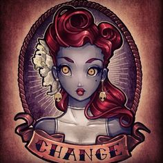 Tim Shumate Illustrations — CHANGE. 4 of 6 new pinups for c2e2 2014.