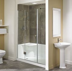 Exceptionnel Acrylic Shower Stall Bases Are Heated Under Warm Running Water For Several  Seconds. It Is Better To Choose Acrylic Bases With Additional Frame  Stiffness.
