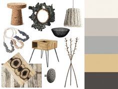 For this week's CMYLK we've created another a palette of soothing neutrals at Colourlovers. The inspiration is the earthy elements of a summer landscape, like sticks, stones, and sand, as well as natural materials and fibers with plenty of texture, like wool, wood, and cork.