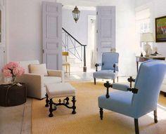 Reclaimed 19th - Century pine floors; period charm; Stephen Gambrel