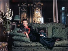 rareaudreyhepburn: Audrey Hepburn photographed by Jean-Claude Sauer for Paris Match magazine at Hubert de Givenchy's Rue de Grenelle Paris apartment in France, September From Audrey Hepburn's personal collection. Golden Age Of Hollywood, Old Hollywood, Audrey Hepburn Born, Art Advisor, Paris Match, Film Institute, Givenchy Paris, Claude, British Actresses