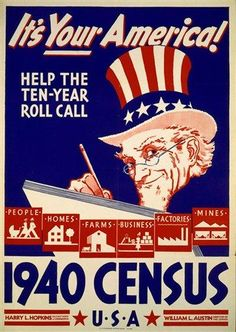 What data can you find in the 1940 U.S. Federal census? #Genealogy  Today is release day!