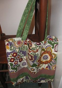 Large tote bag by sewleighmyown, $25.00