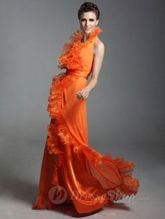 orange dress, love this style! Dresses 2013, Dresses Online, Dresses For Sale, Party Dresses, Orange Prom Dresses, Orange Dress, Mode Orange, Love Fashion, Luxury Fashion