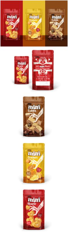 Brand Identity and Packaging Design for New Private Label Mini Snacks Design Agency: Love Mondays Brand / Project Name: SnapMax Mini Snacks Location: Sweden Category: #Snacks #food World Brand & Packaging Design Society