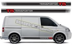 VW transporter side racing stripes 017 Volkswagen VW Transporter & VW Campervan side racing stripes sticker kit with or logo. We can make these racing stripes to suit all VW Transporters. Volkswagen Transporter, Vw T5, Main Colors, Colours, Racing Stripes, Vw Camper, Campervan, Color Show, Colorful Backgrounds