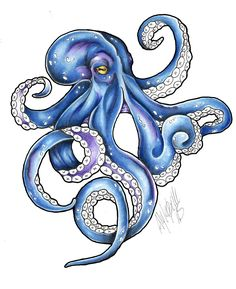 'Kraken Color Flash tattoo' iPad Case/Skin by HorimonoAtelier – Octopus Tattoo Octopus Drawing, Octopus Painting, Octopus Tattoo Design, Octopus Tattoos, Octopus Art, Tattoo Designs, Octopus Outline, Tattoo Ideas, Tattoo Pencil