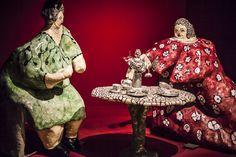 Niki De saint Phalle, le thé chez Angelina, Grand palais