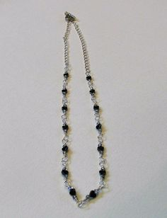 Hematite Hearts Chain by GirlyPossessions on Etsy