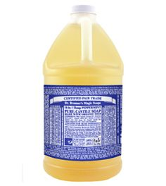 Peppermint Castile Liquid Soap -