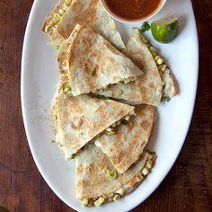 Day 23: Sweet Corn-Epazote Quesadillas | Food & Wine
