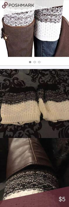 Knit Leg Warmers For Boots BNWOT Knit Leg Warmers For Boots BNWOT Accessories Hosiery & Socks