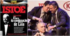 Moro que não prendeu um único tucano e absolveu mulher de Cunha e Cabral, quer condenar Lula a 22 anos de prisão segundo Istoé