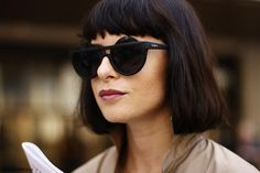 Love the bob AND THE SUNGLASSES (...but not enough for me to contemplate going back to that short).