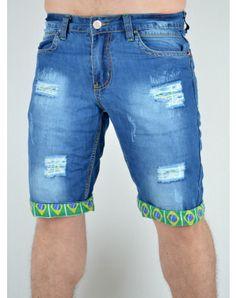 Ανδρικά Ρούχα Men Clothes, Denim Shorts, Summer, Blue, Fashion, Moda, Summer Time, Men's Clothing, Fashion Styles