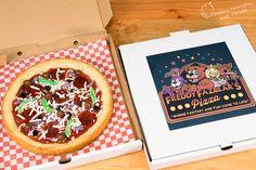 Five Nights at Freddy's Pizza Cake (Freddy Fazbear Pizza)
