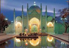 Wonderful Architecture Gate to Qazvin's Citadel - IRAN