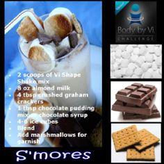 Vi Shake! S'mores flavour ;) glenclewis.bodybyvi.com