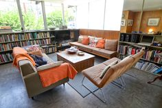 A Look Inside the Neutra VDL House