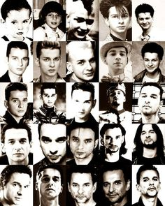 A lifetime of Dave.mmmmm honestly Dave Gahan is like fine wine .smoother and better with age Martin Gore, New Wave Music, My Music, Alan Wilder, Robert Smith The Cure, Enjoy The Silence, Dave Gahan, Look Fashion, Fast Fashion