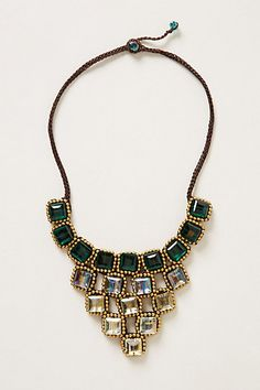 Tuileries Ombre Bib Necklace