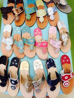 Preppy Women's Sandals: Jack Rogers, Birkenstock & More