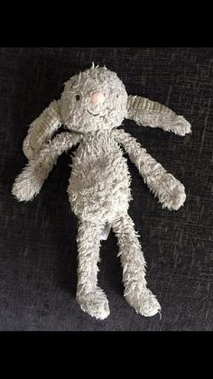 Lost on 26 Jul. 2016 @ Little lever. Well loved beasley grey bunny Visit: https://whiteboomerang.com/lostteddy/msg/tv58oh (Posted by Becky on 26 Jul. 2016)