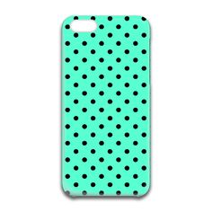 A iPhone Case featuring the Mint Black Polka Dots by djuranne for high quality art with super fast delivery and discount offers. Iphone 6 Cases, Polka Dots, Mint, Black, Black People, Iphone 6 Skins, Polka Dot, Dots, Peppermint
