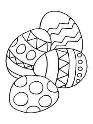 coloriages pâques ecole maternelle