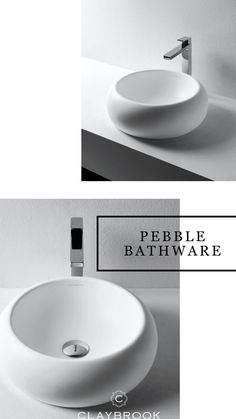 Introducing the all new: Pebble Basin. With simple, yet elegant design and this is the newest addition to trending luxury bathware. If you are doing a full bathroom remodel or just upgrading your basin, then Claybrook has the customizable bathware specific to your interior design taste. Minimalist Bathroom Design, Bathroom Design Luxury, Luxury Interior Design, Hotel Room Design, Lobby Design, Most Luxurious Hotels, Luxurious Bedrooms, Couch Design, Bathroom Basin