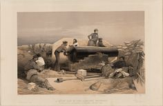 lithographic scenes from the Crimean War
