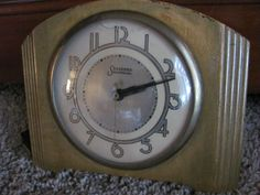 Antique Art Deco Clock by the Sessions Company. $24.95, via Etsy.