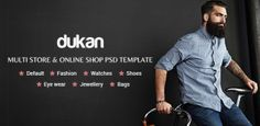 Dukan – Multi Store & Online Shop PSD Template (Retail)