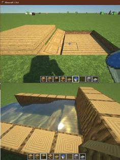 Minecraft Bauwerke, Minecraft Building Guide, Minecraft Construction, Amazing Minecraft, Cool Minecraft Houses, Minecraft Blueprints, Minecraft Crafts, Minecraft Buildings, Minecraft Banner Designs