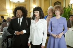"Yvette Nicole Brown as Shirley/""Jules"", Gillian Jacobs as Britta/""Mia"", Ken Jeon..."