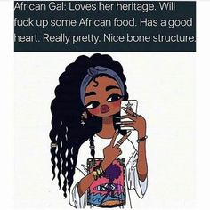 Black Girl Cartoon, Black Girl Art, Black Women Art, Black Girls Rock, Black Girl Magic, Art Girl, Natural Hair Art, Barbie, Black Artwork