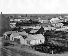 1864 Old view of Denver :: Photographs - Western History